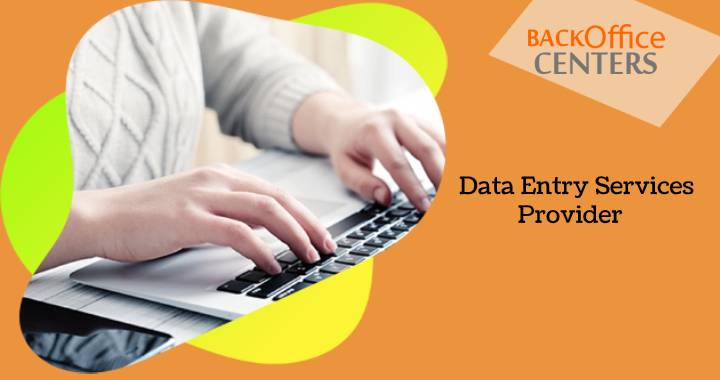 Data entry services provider